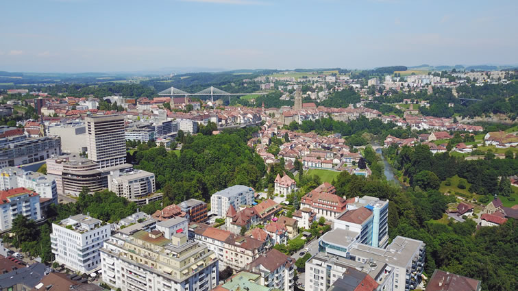 ville fribourg